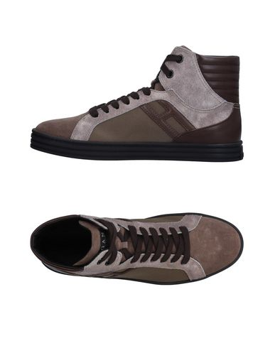 Hogan Rebel Sneakers - Men Hogan Rebel Sneakers online on YOOX ... 8d3a023d558