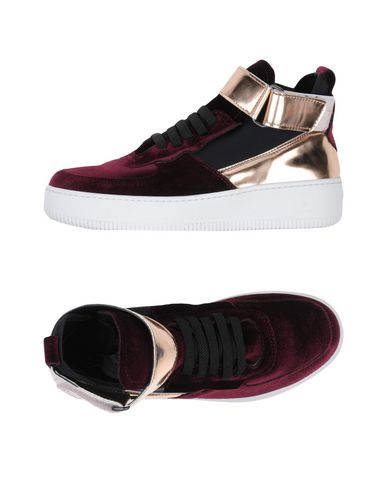 BRUNO BORDESE Sneakers in Maroon