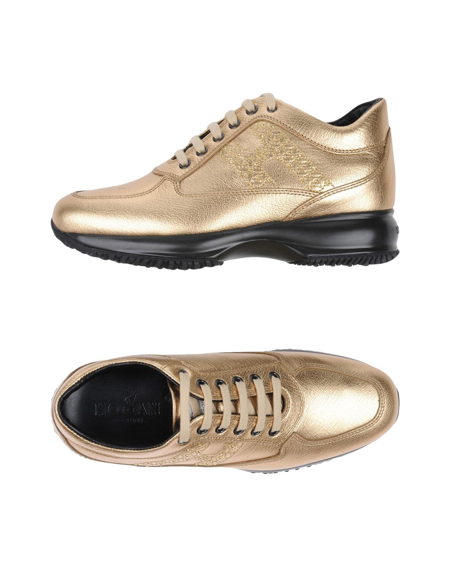 Los últimos zapatos mujeres de descuento para hombres y mujeres zapatos Zapatillas Hogan Mujer - Zapatillas Hogan  Oro 301706