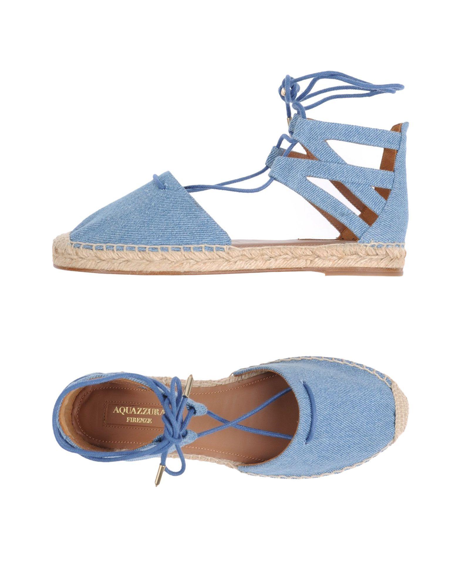 Rabatt Schuhe Aquazzura Espadrilles Damen  11290300HR