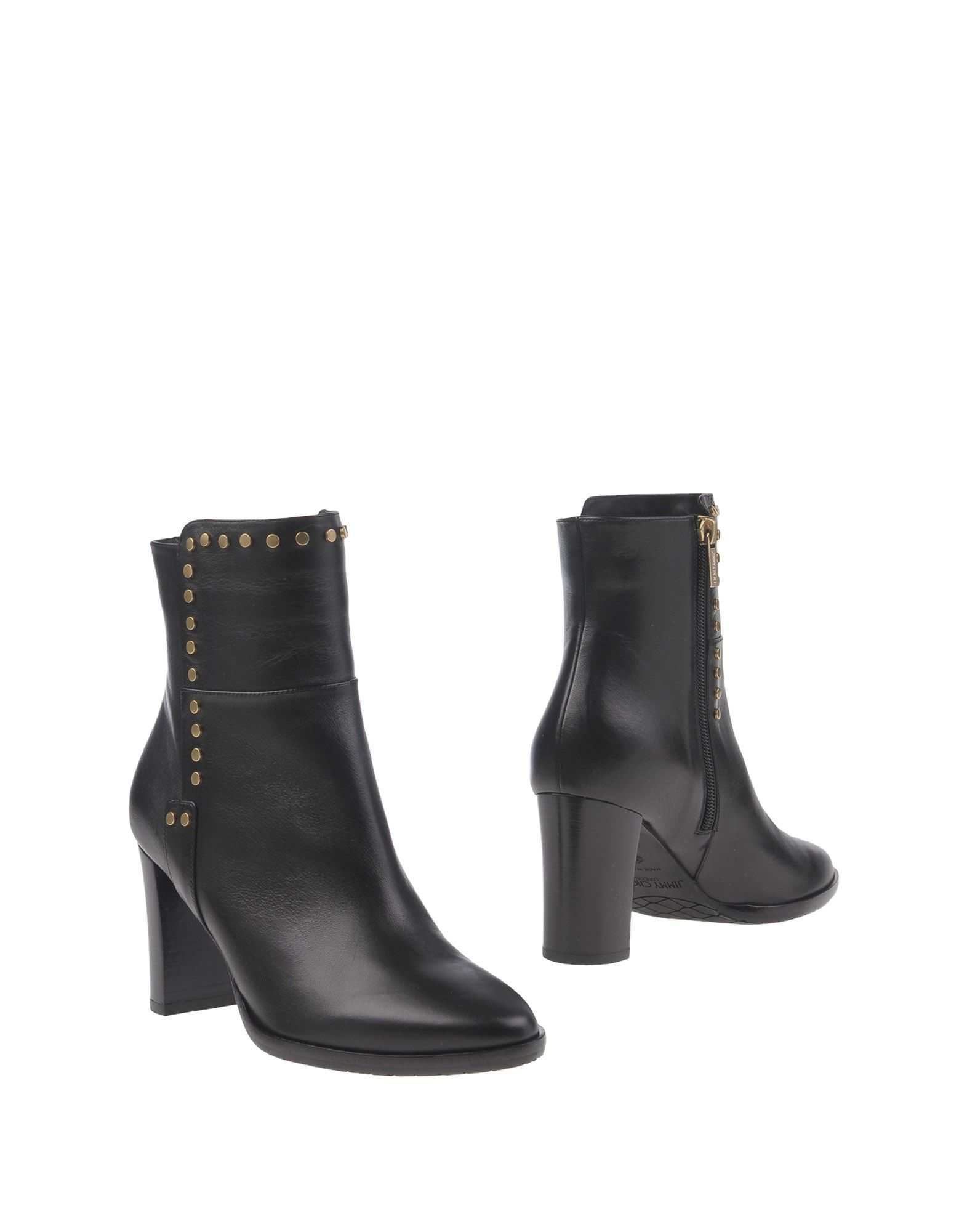 Bottine Jimmy Choo Femme - Bottines Jimmy Choo Noir Meilleur modèle de vente
