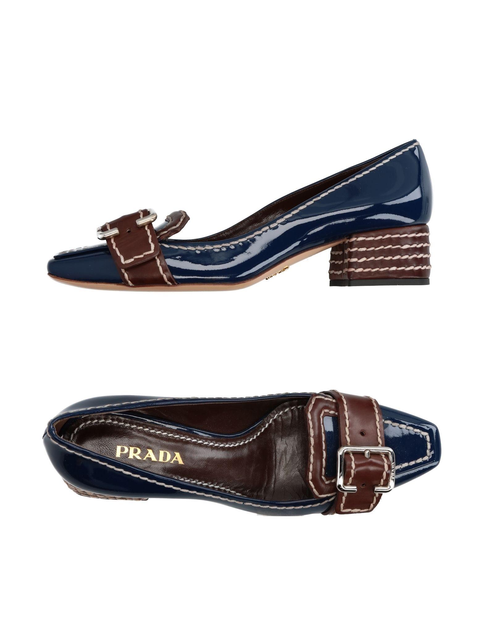 Prada Mokassins aussehende Damen  11290932NHGünstige gut aussehende Mokassins Schuhe 0c3eee