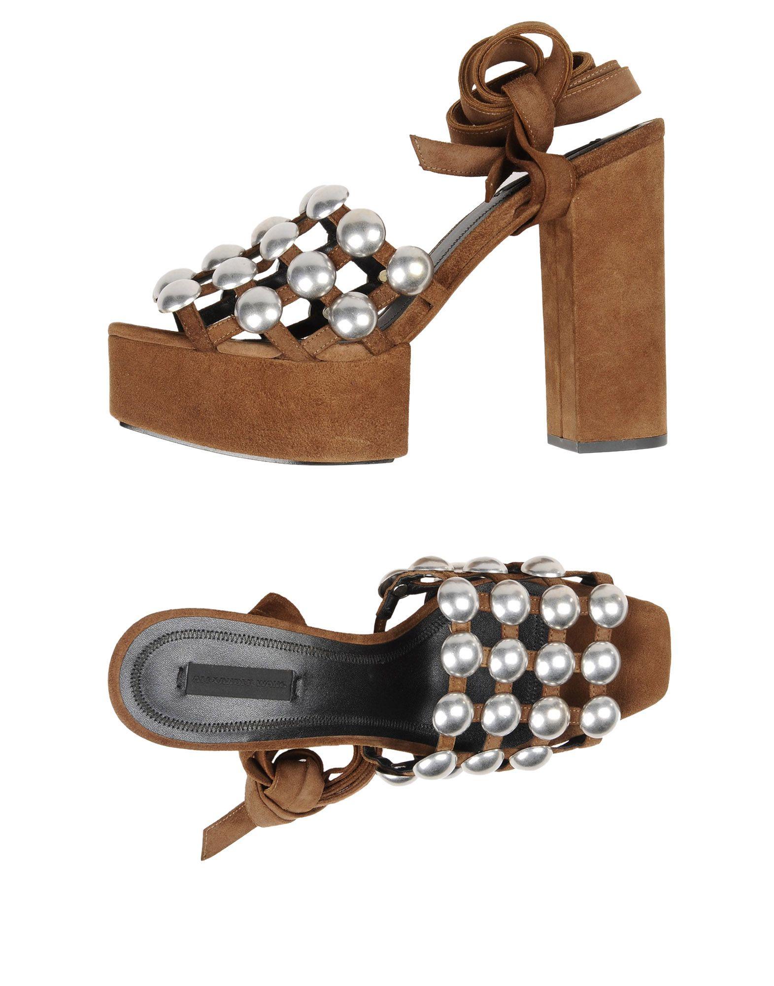 Alexander Wang Sandalen Damen  11290967TKGünstige gut aussehende Schuhe