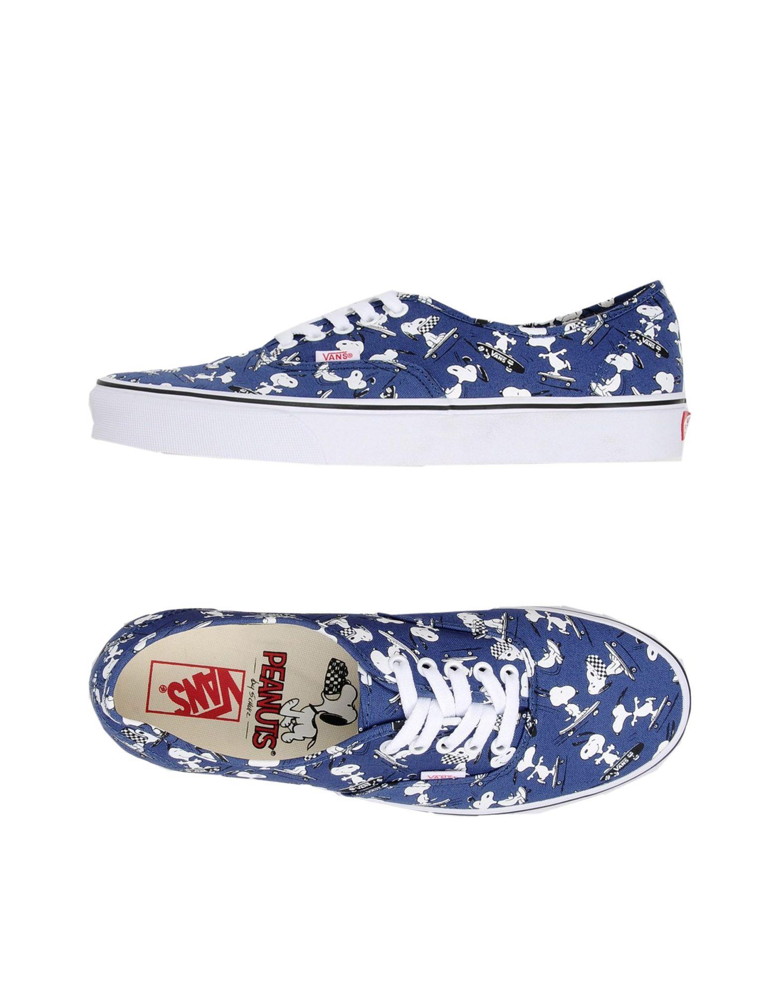 Sneakers Vans Ua Authentic Peanuts Snoopy - Uomo - 11291086AD