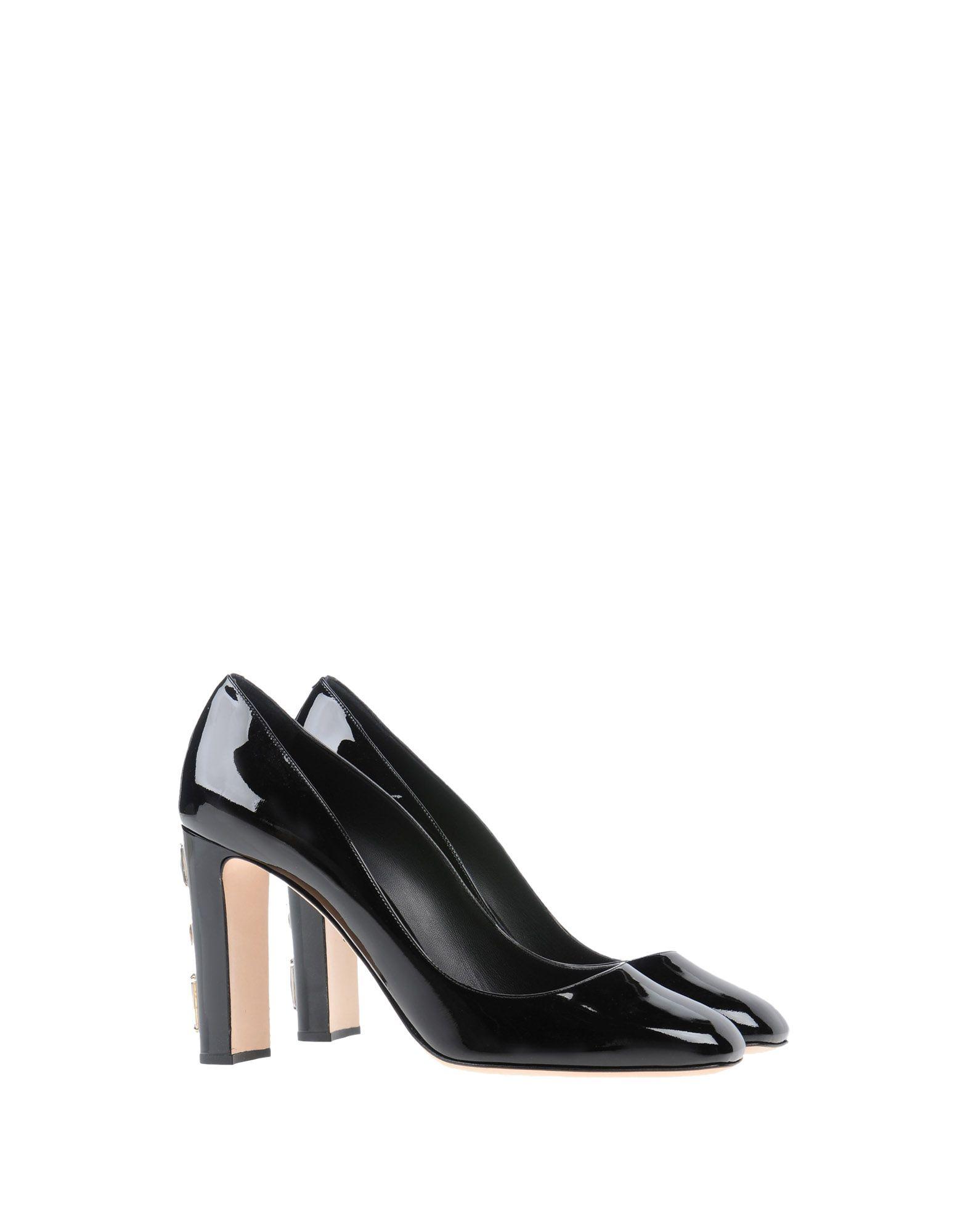 Dolce & Gabbana Pumps aussehende Damen  11293011BLGünstige gut aussehende Pumps Schuhe 1d9e23