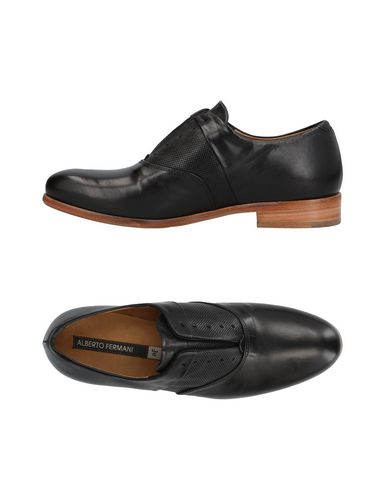 ALBERTO FERMANI Loafers in Black