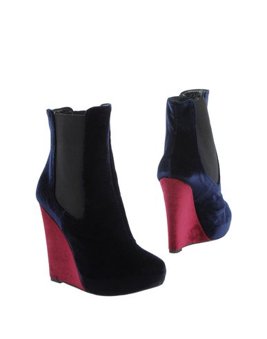 GIACOMORELLI Ankle Boot in Dark Blue