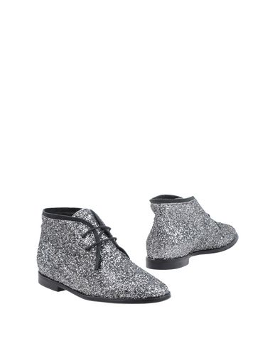 SUSANA TRACA Ankle Boots in Silver