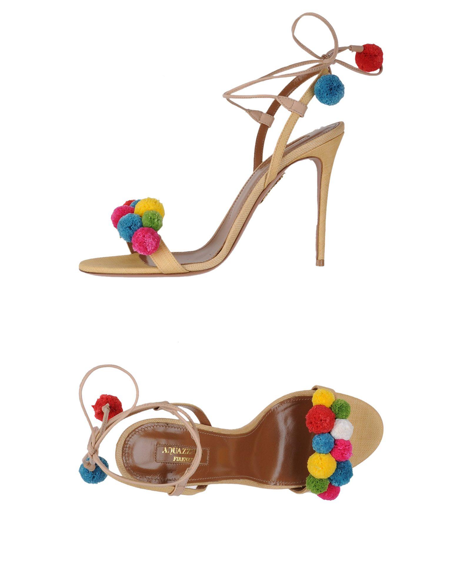 Aquazzura Sandalen Damen  11295373WPGünstige gut aussehende Schuhe