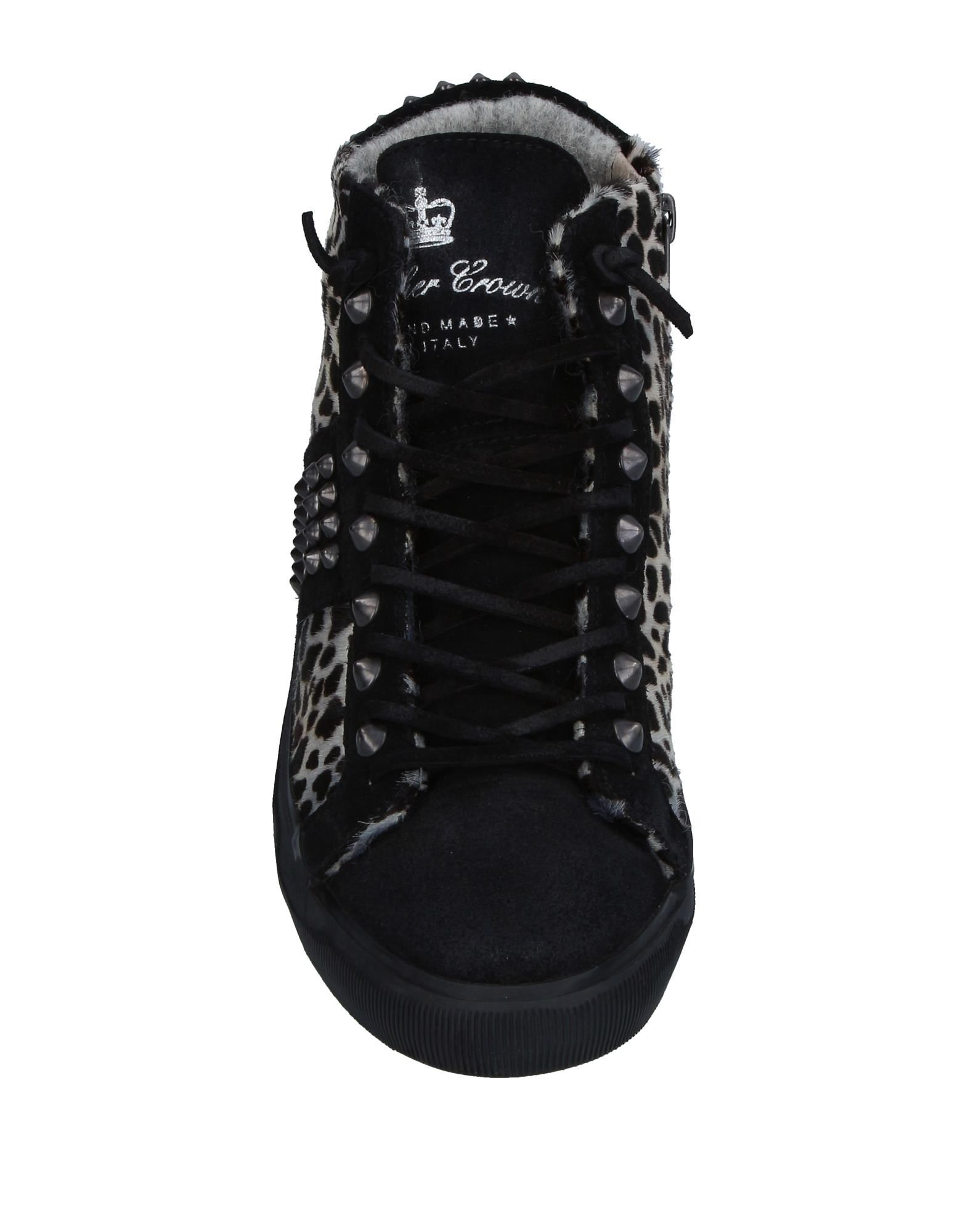 Sneakers Leather Crown Femme - Sneakers Leather Crown sur