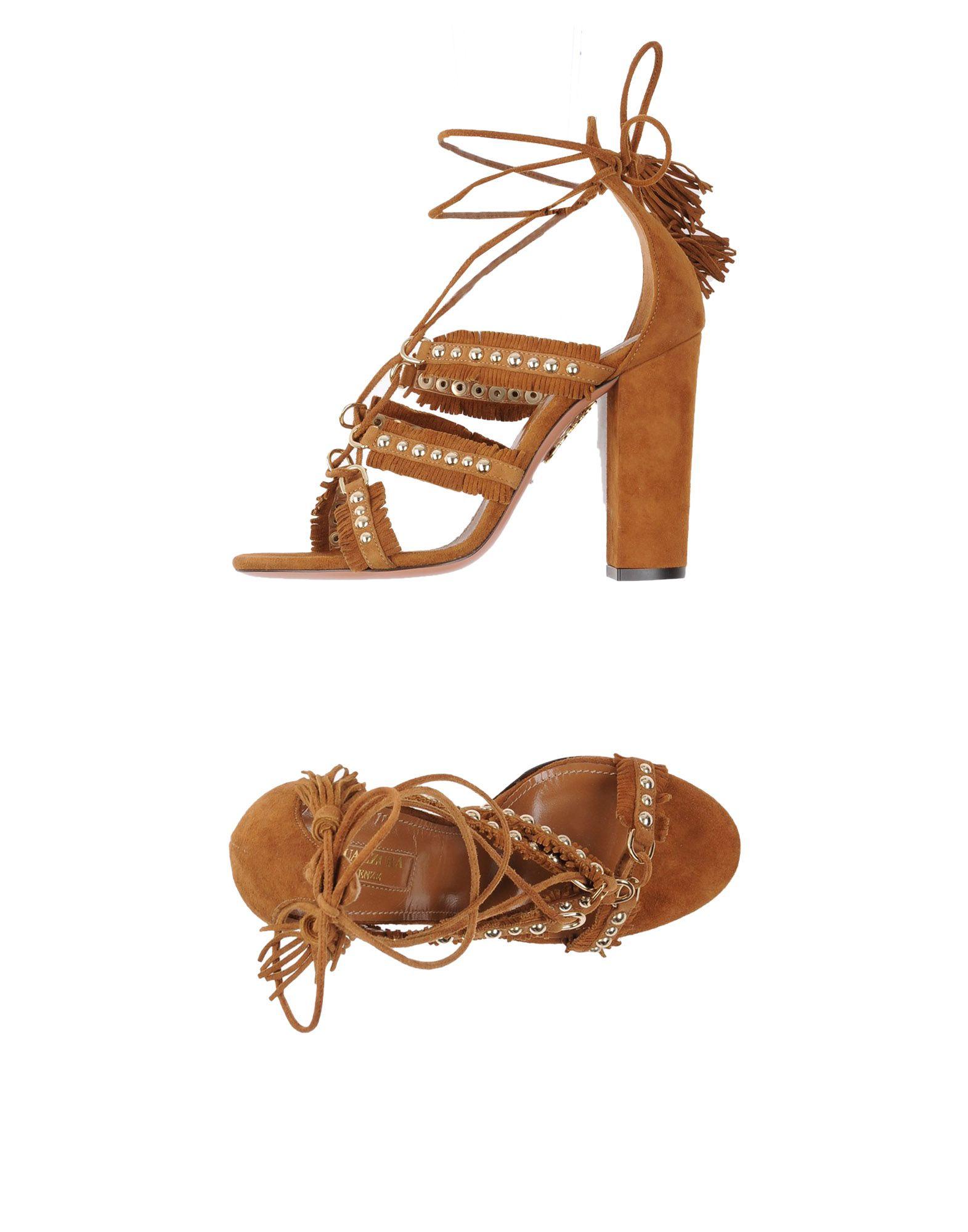 Aquazzura Sandalen Damen gut  11296184QWGünstige gut Damen aussehende Schuhe 85fff6