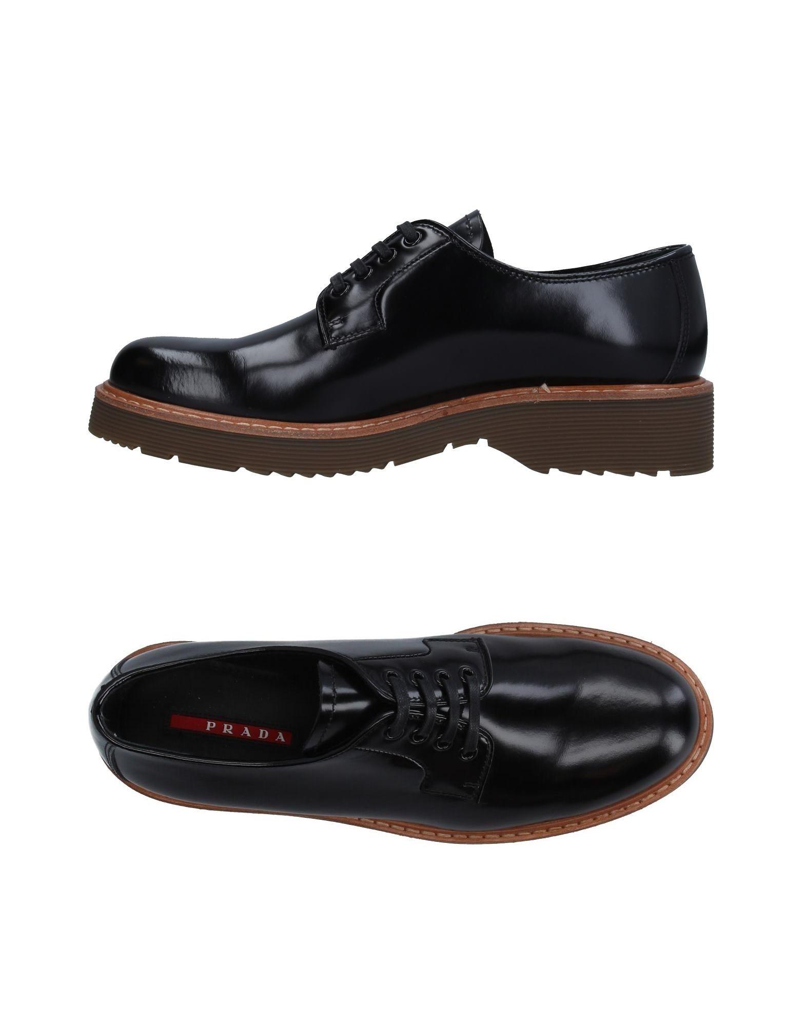 Prada Sport Schnürschuhe Damen  11296795FD Neue Schuhe