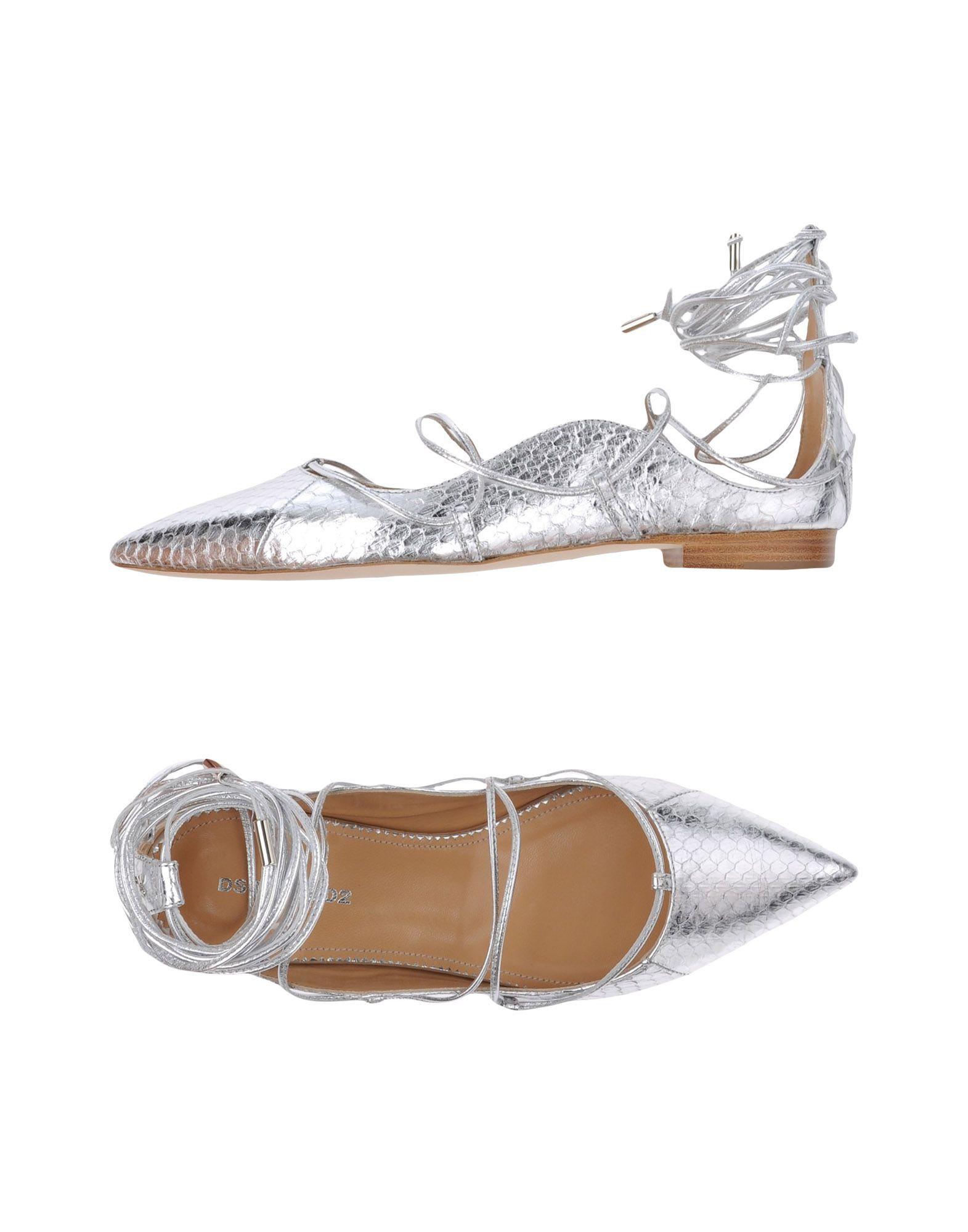 Dsquared2 Ballerinas Damen  11297728OMGünstige gut aussehende Schuhe