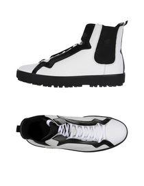 Sneaker Homme Pas cher en Soldes, Blanc, Cuir, 2017, 43Hogan