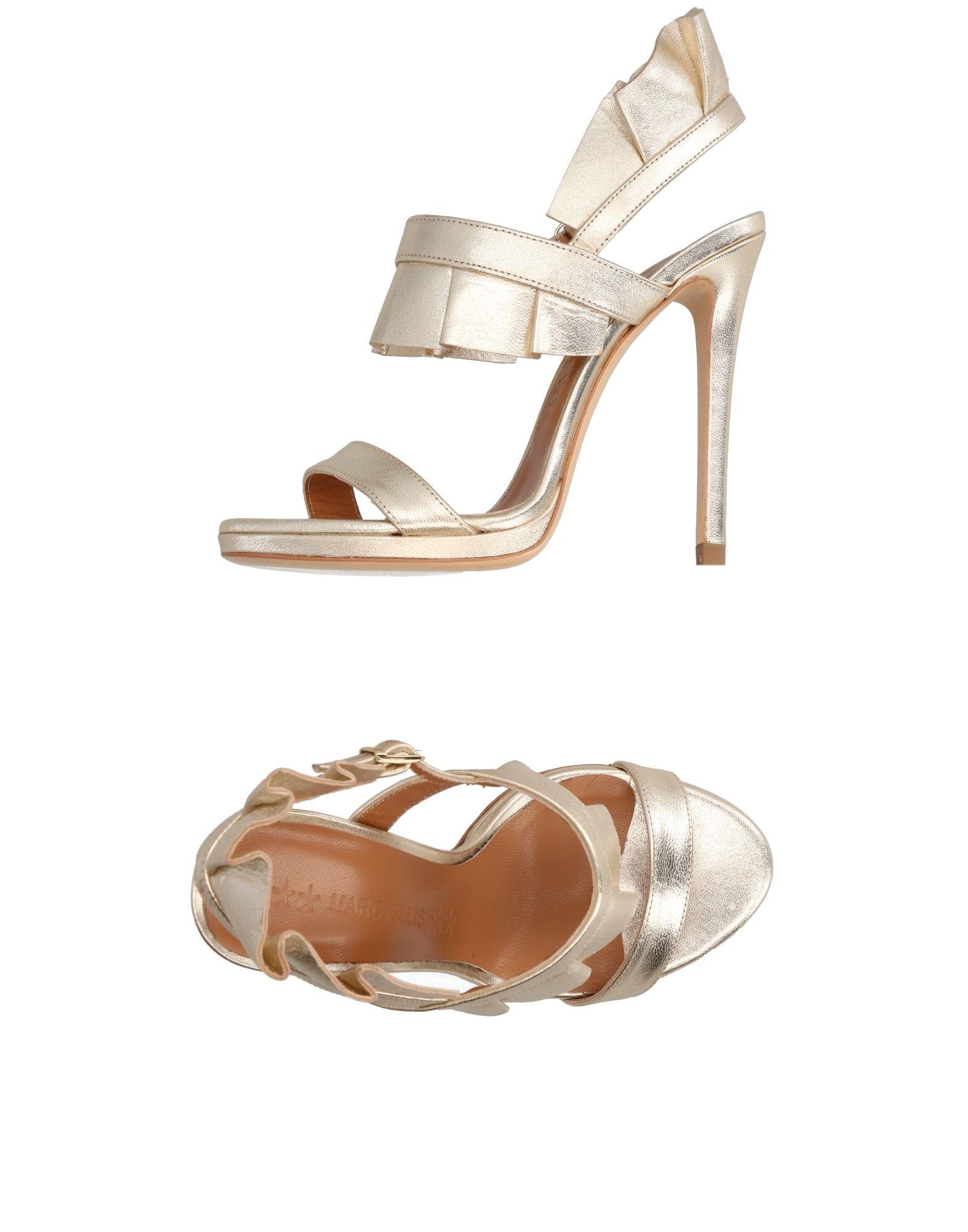 Stilvolle billige Schuhe Marc Ellis Sandalen Damen  11298274RO