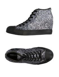 scarpe converse tacco alto