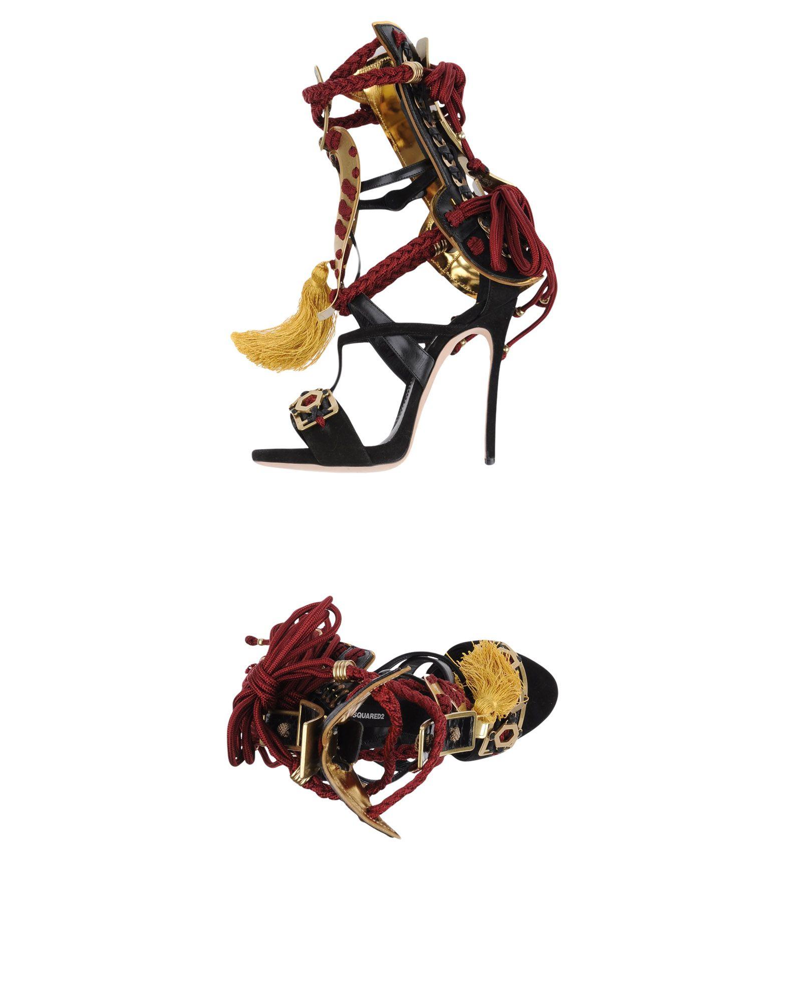 Dsquared2 Sandalen Damen  11298648XXGünstige gut aussehende Schuhe
