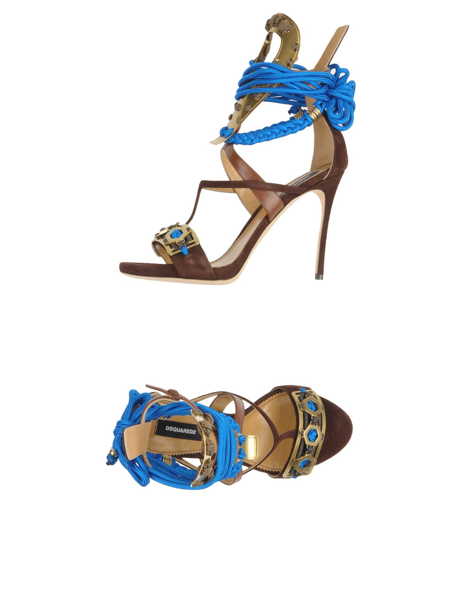 Dsquared2 Sandalen Damen gut  11298651TGGünstige gut Damen aussehende Schuhe 7f34df