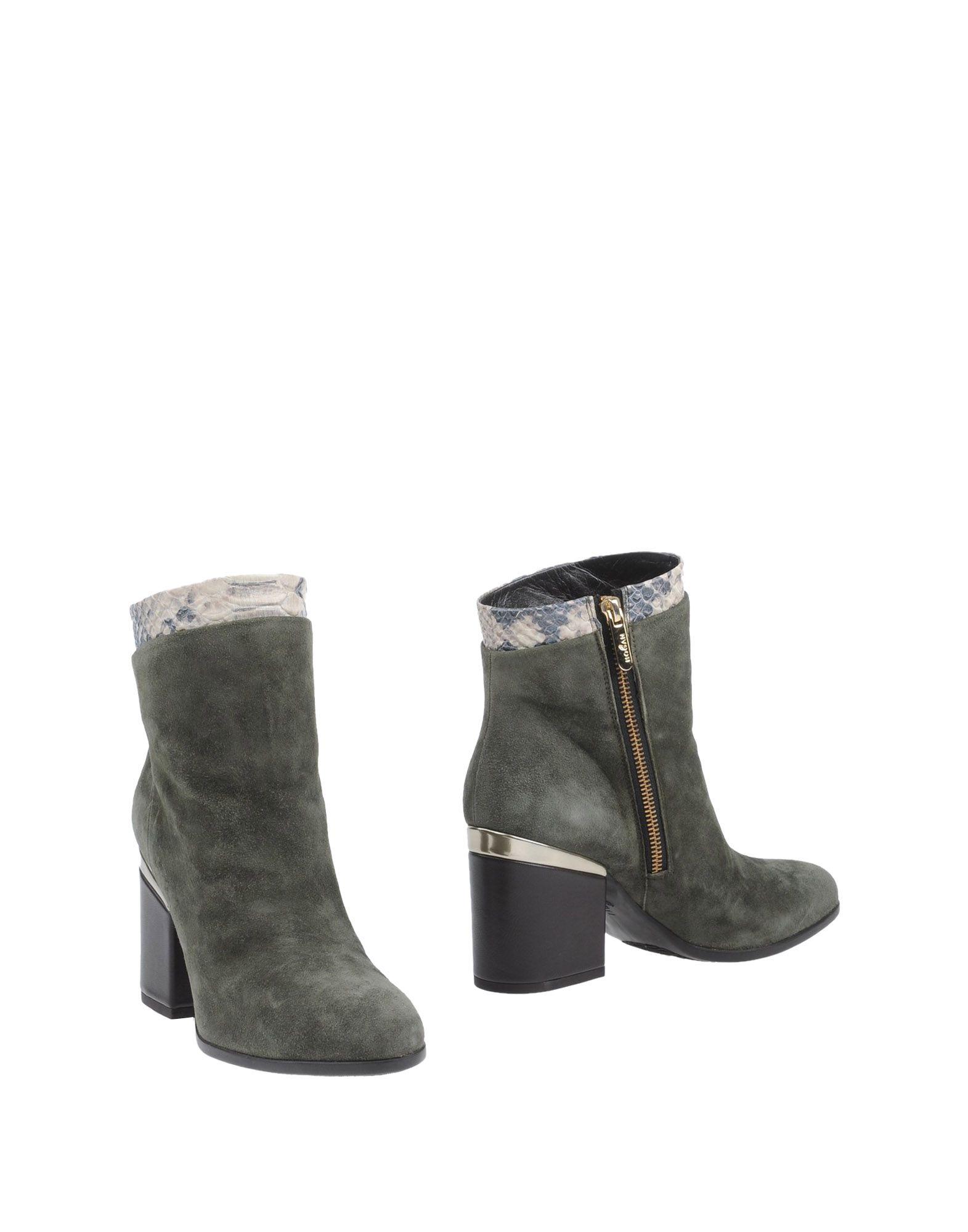 Rabatt Schuhe Hogan Stiefelette Damen  11298900PO