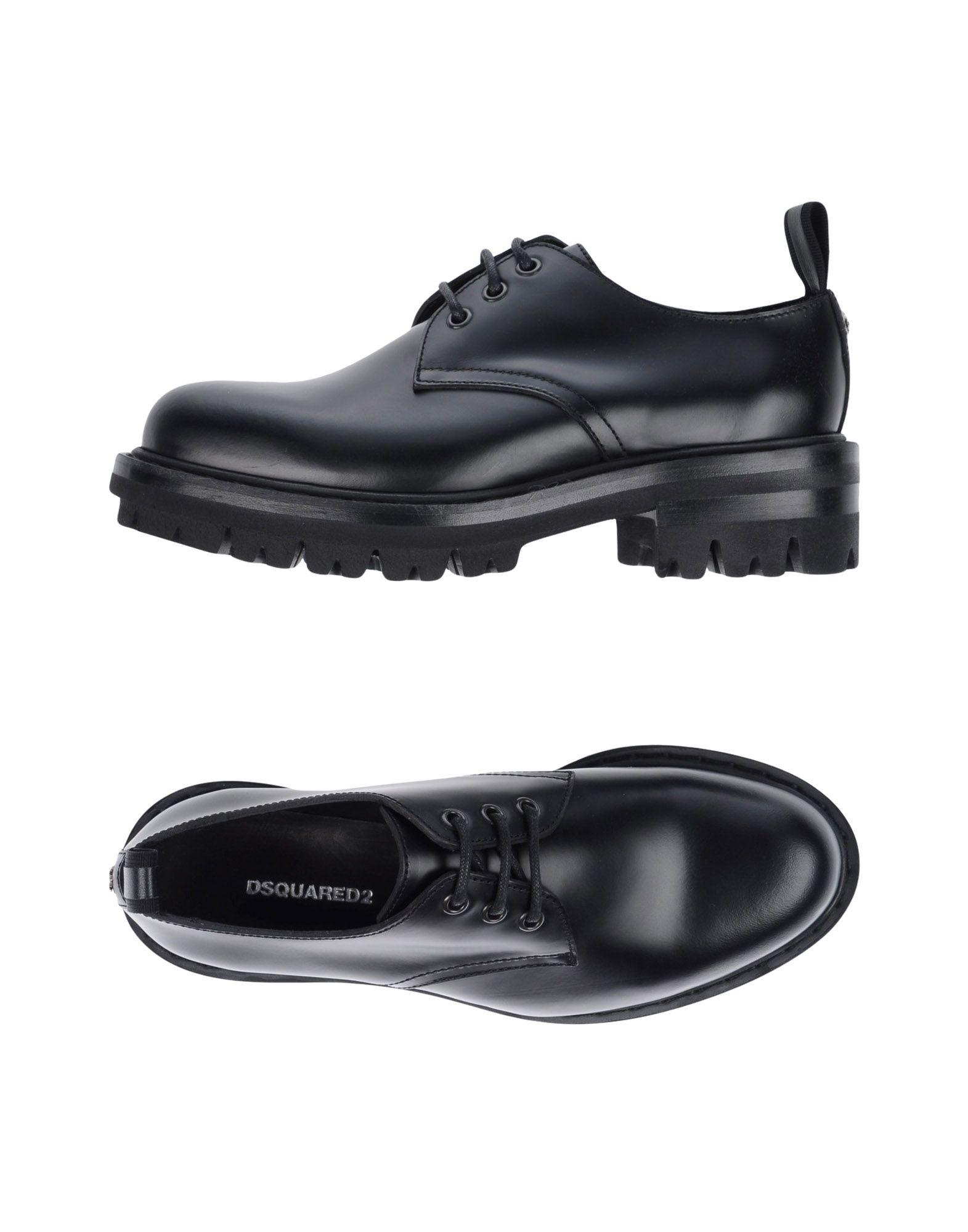 Rabatt Schuhe Dsquared2 Schnürschuhe Damen  11299361WS