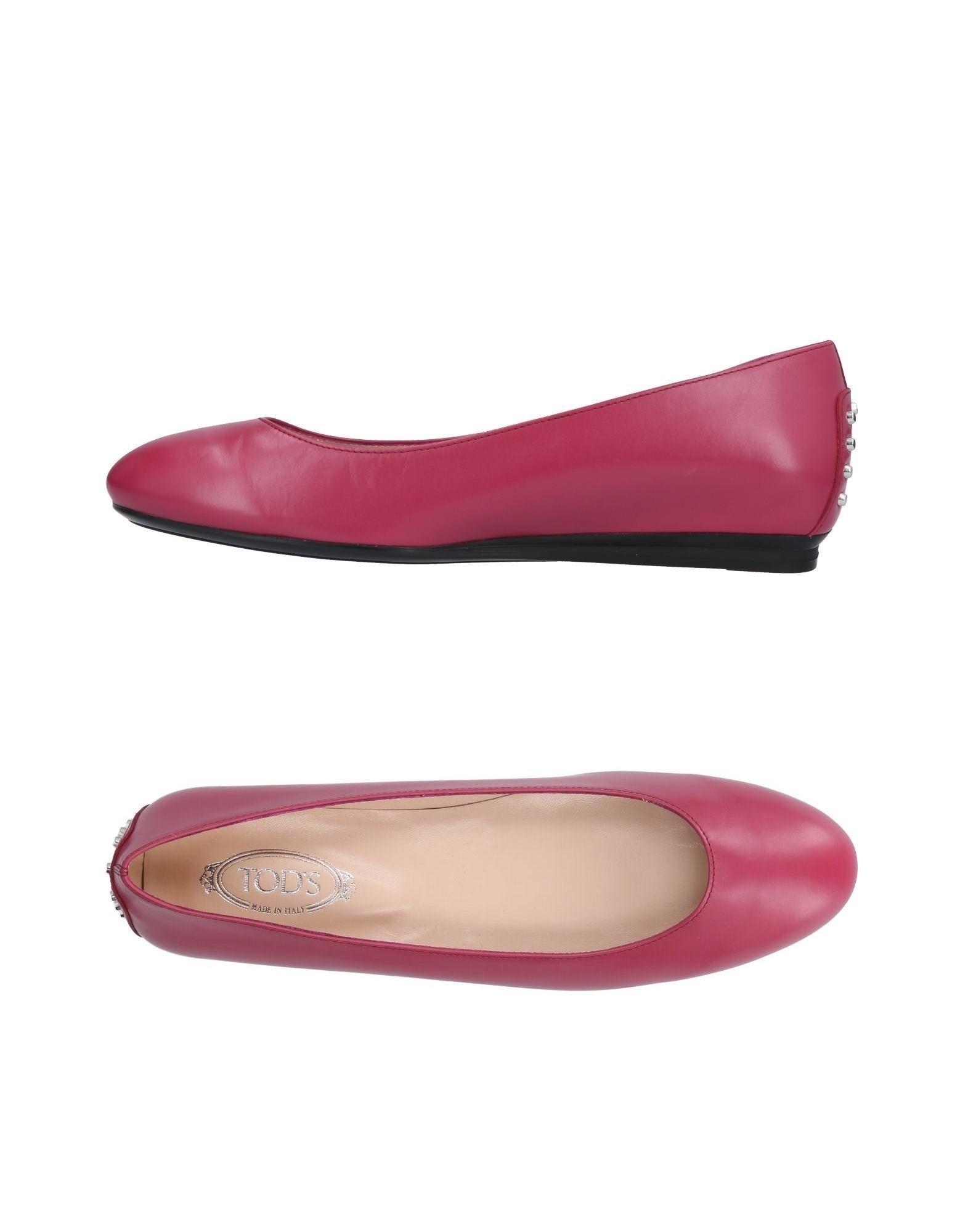 Stilvolle billige Schuhe Tod's Ballerinas Damen  11299645DE