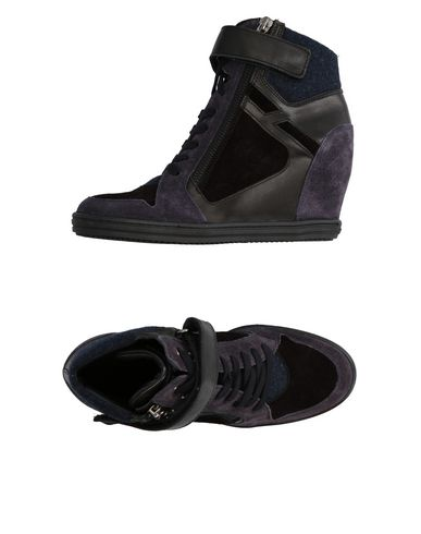 Sneakers Hogan Rebel Donna - Acquista online su YOOX - 11299762PB 3853b6ab651