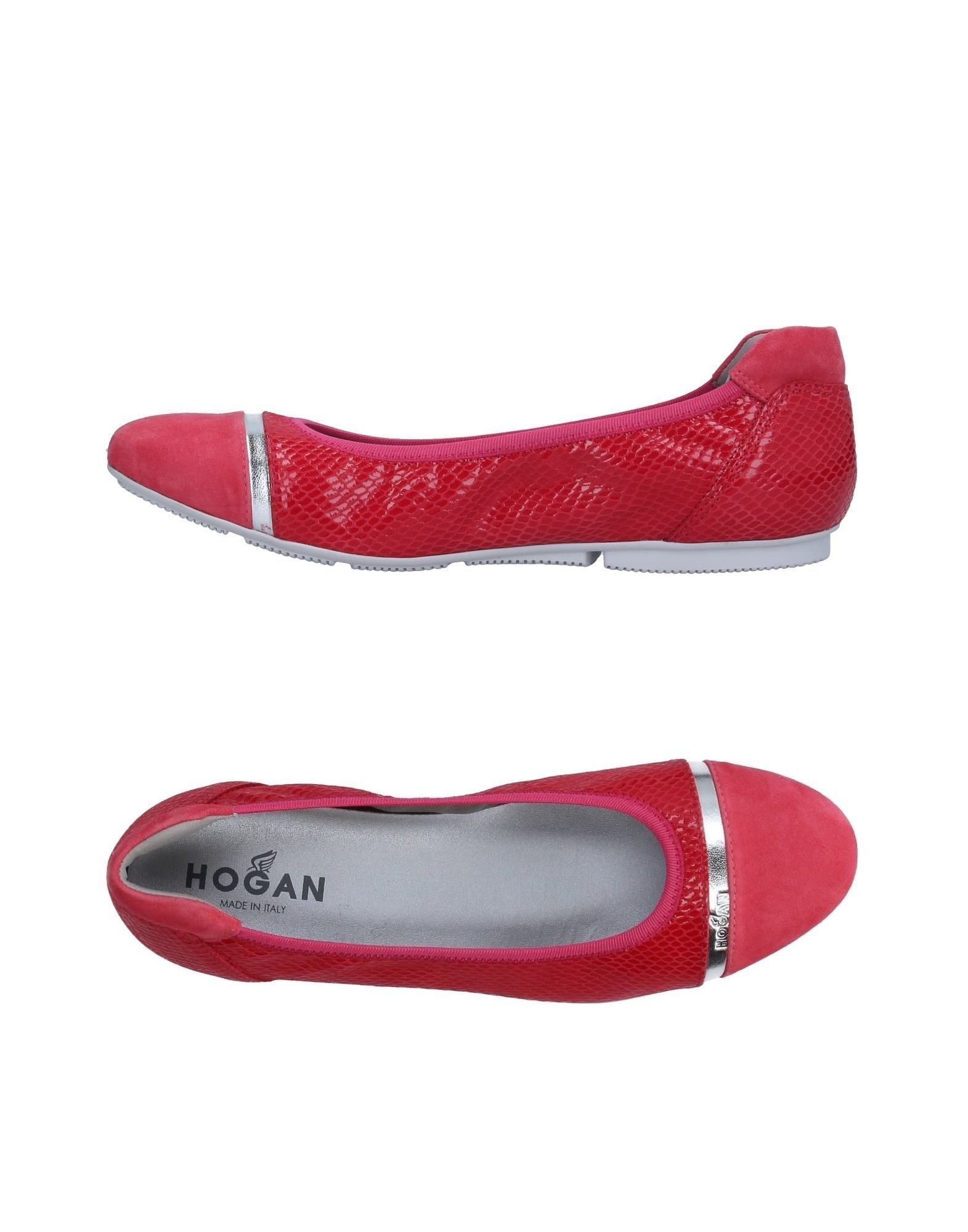 Stilvolle billige Schuhe Hogan Ballerinas Damen  11299821VT