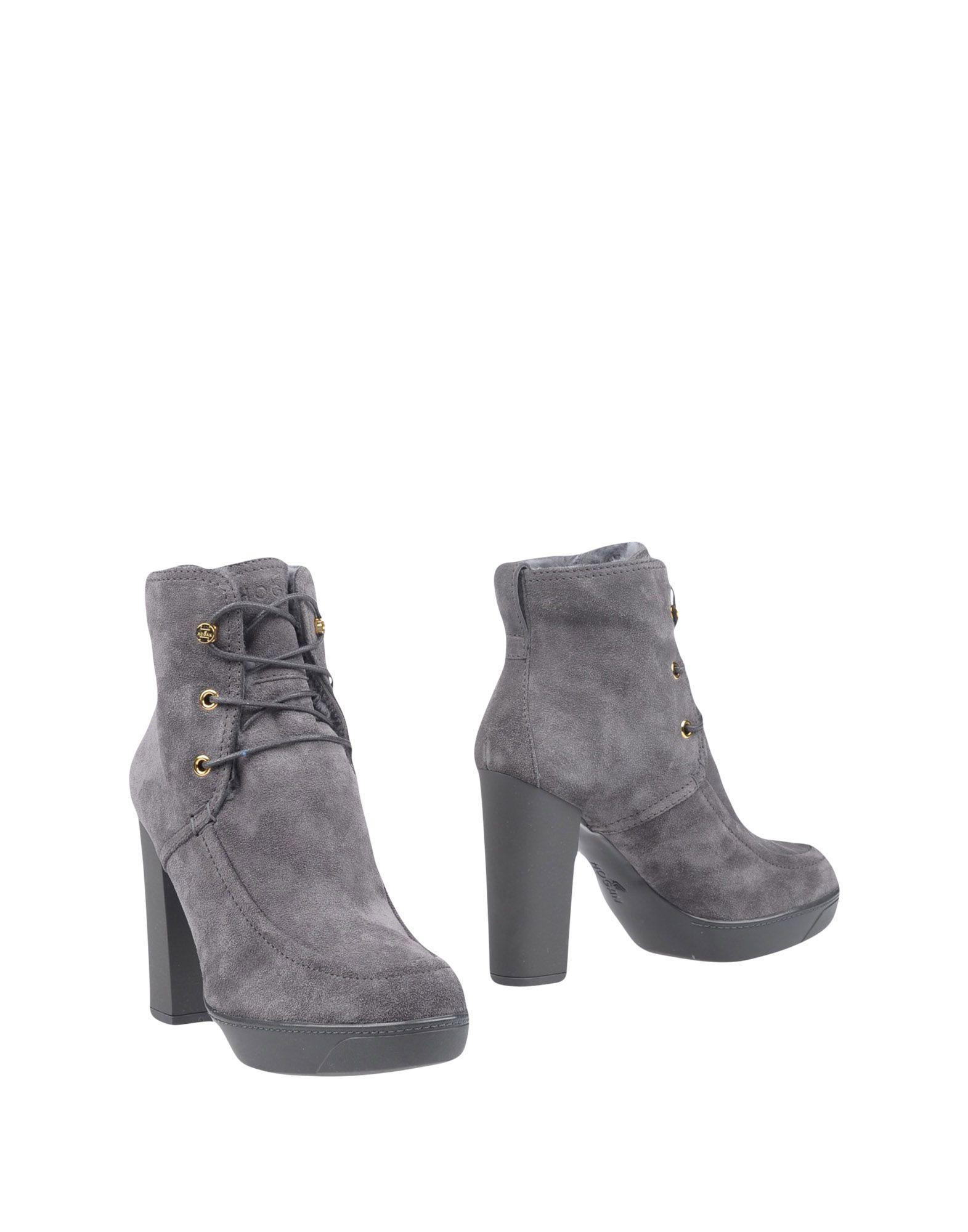 Rabatt Schuhe Hogan Stiefelette Damen  11300079GA