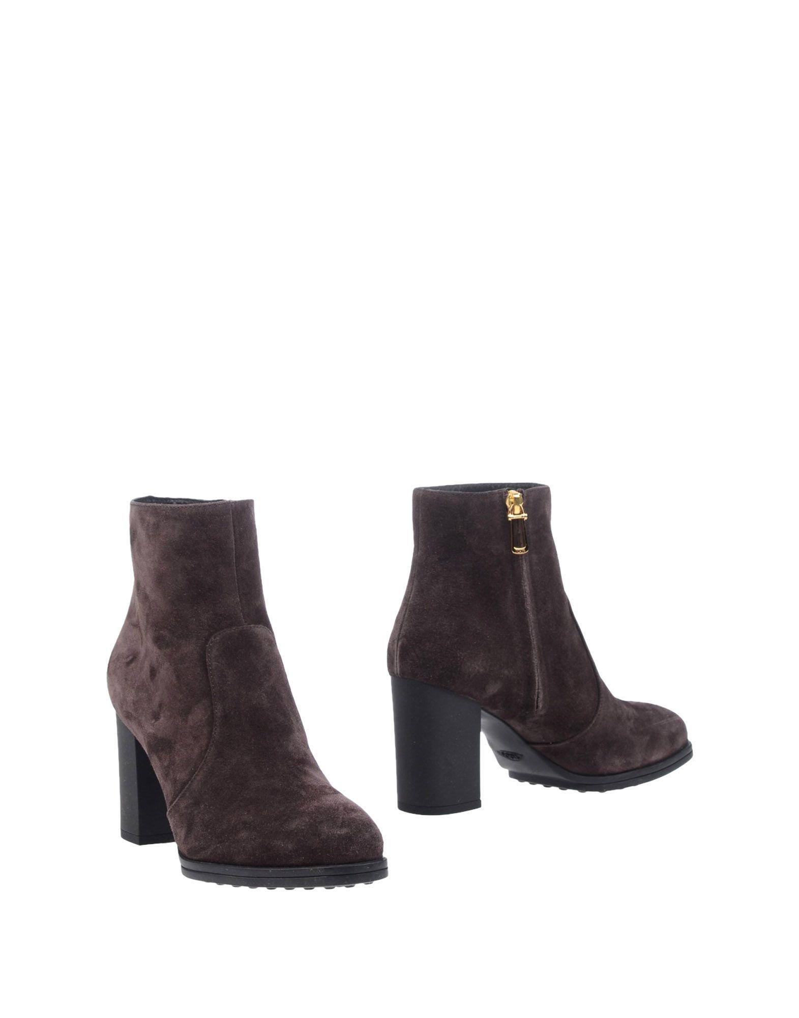 Rabatt Schuhe Tod's Stiefelette Damen  11300287JA
