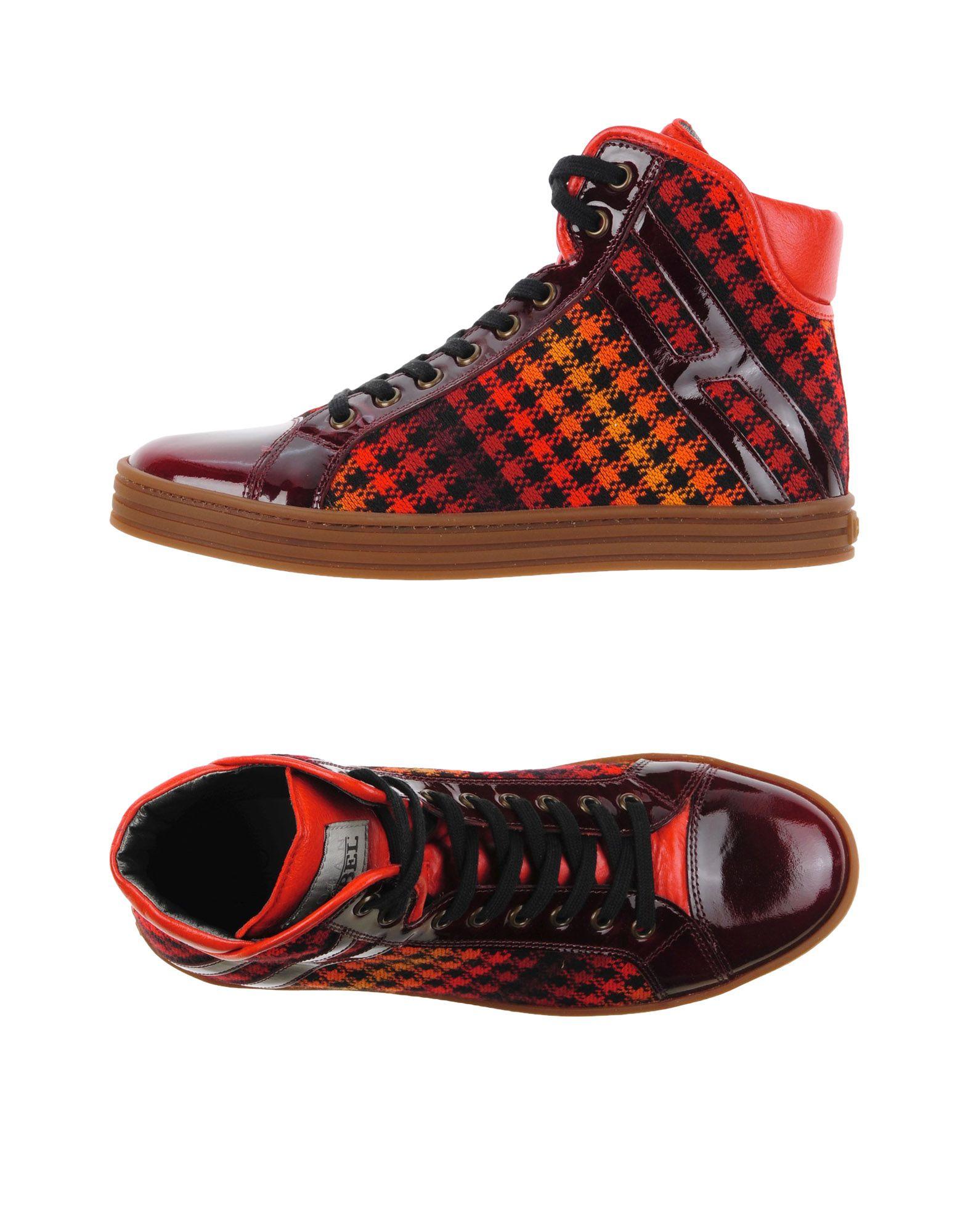 Stilvolle billige Schuhe Hogan Rebel Sneakers Damen  11300295WF