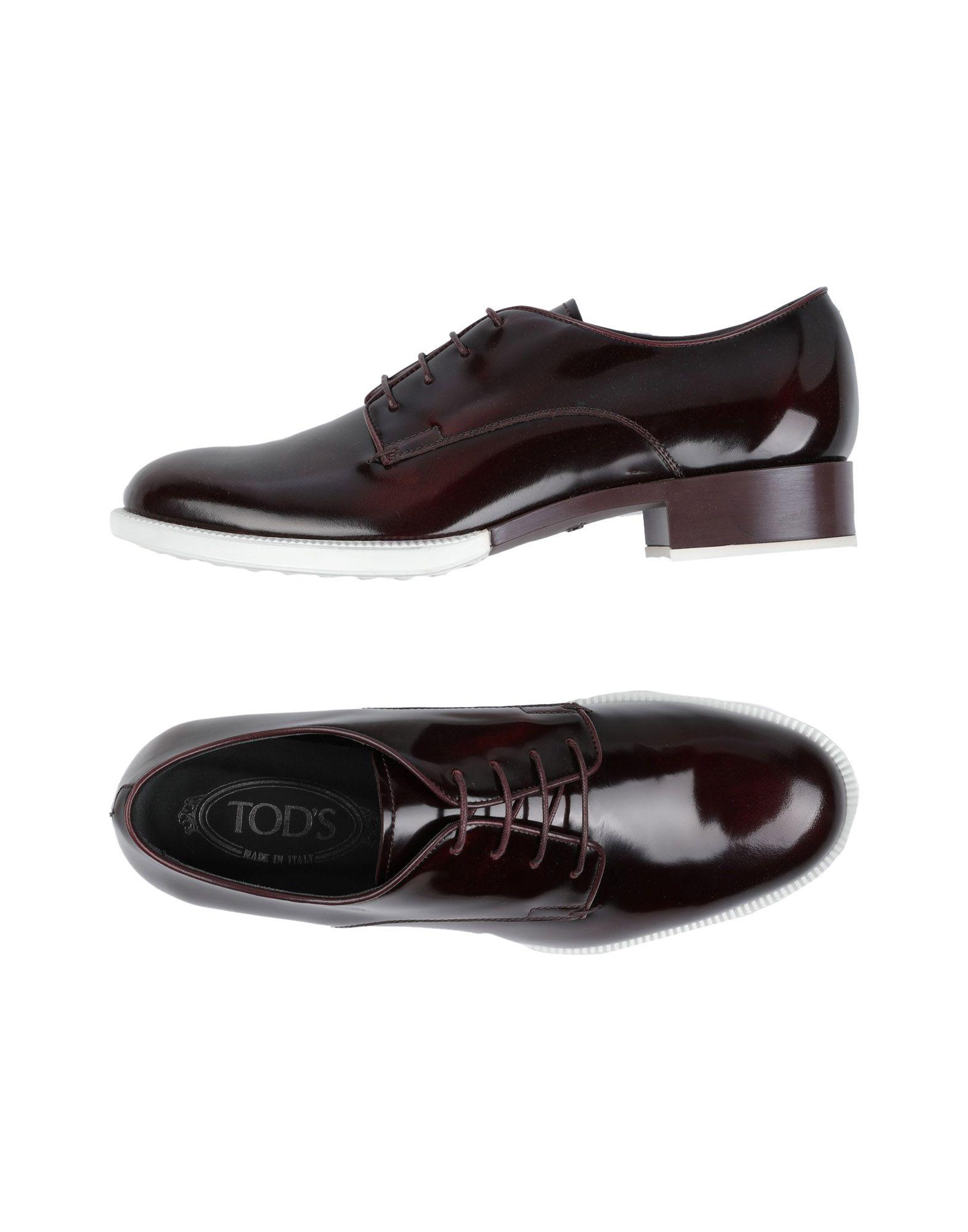 Rabatt Schuhe Tod's Schnürschuhe Damen  11300552VX
