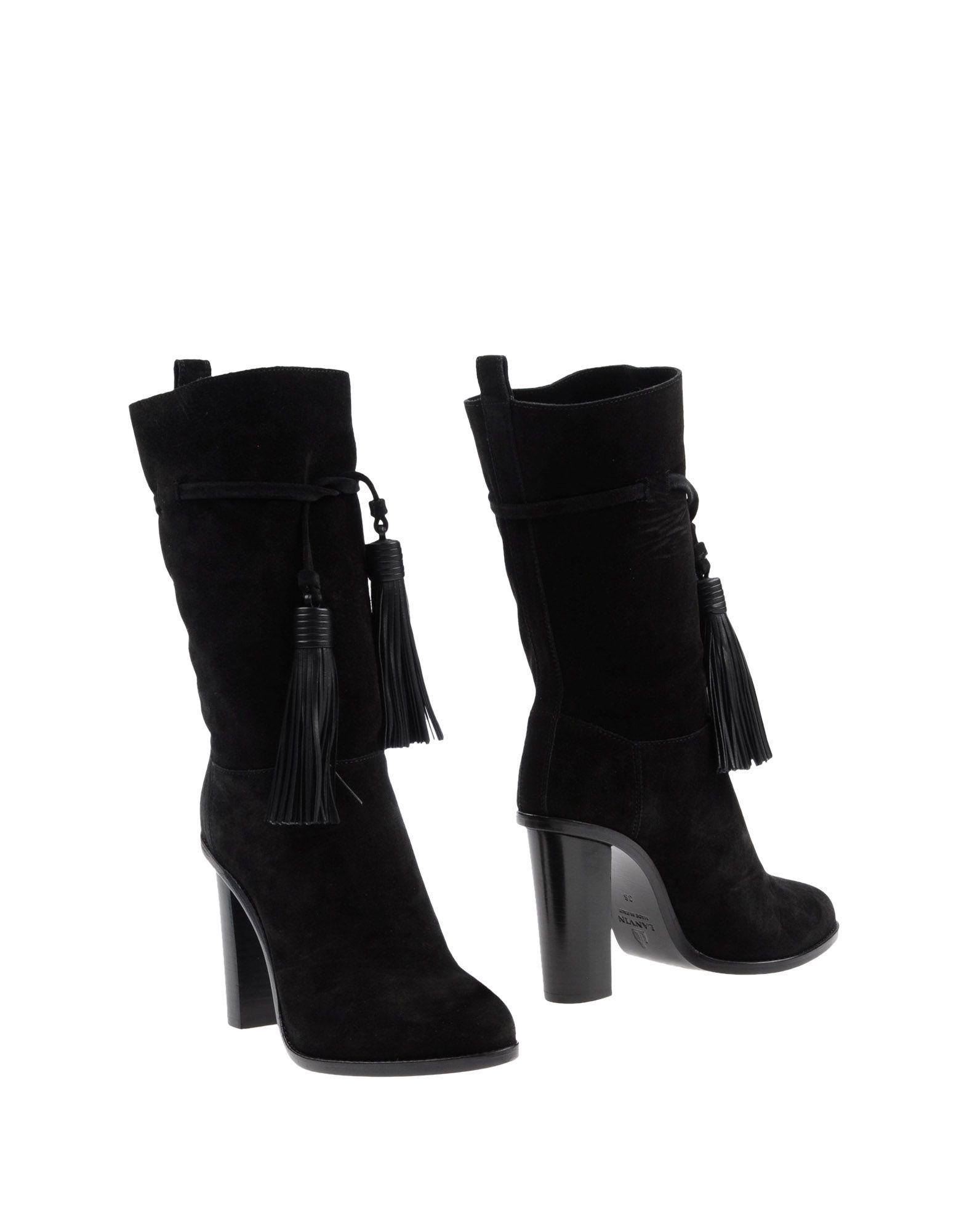 Lanvin gut Stiefelette Damen  11301746NUGünstige gut Lanvin aussehende Schuhe fd04bf
