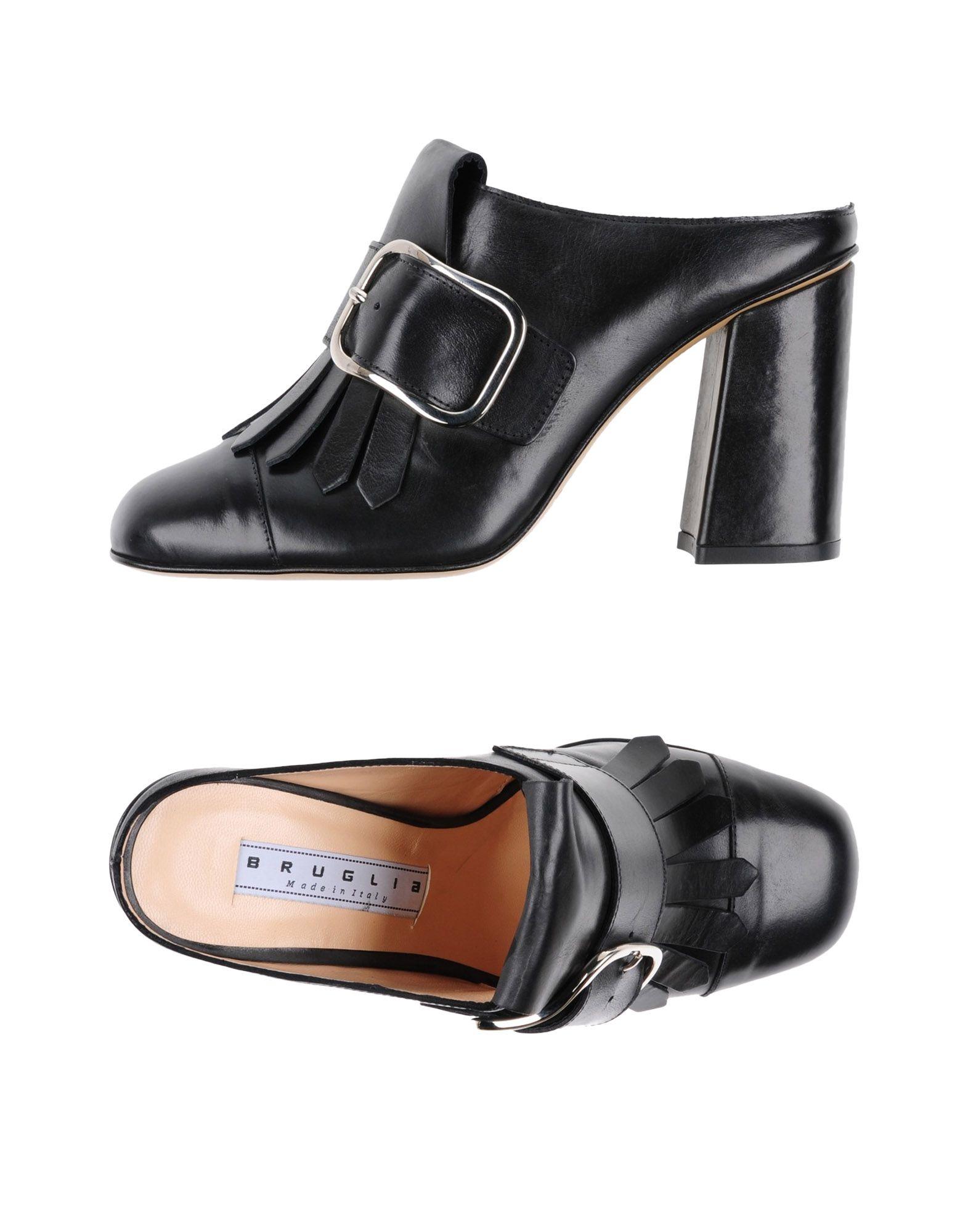 Stilvolle billige Schuhe F.Lli 11301935QX Bruglia Pantoletten Damen  11301935QX F.Lli 100407