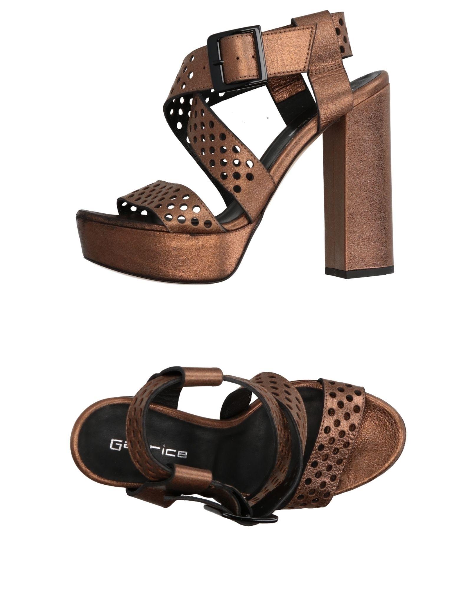 Moda Sandali Sandali Moda Garrice Donna - 11302488VC bb0e57