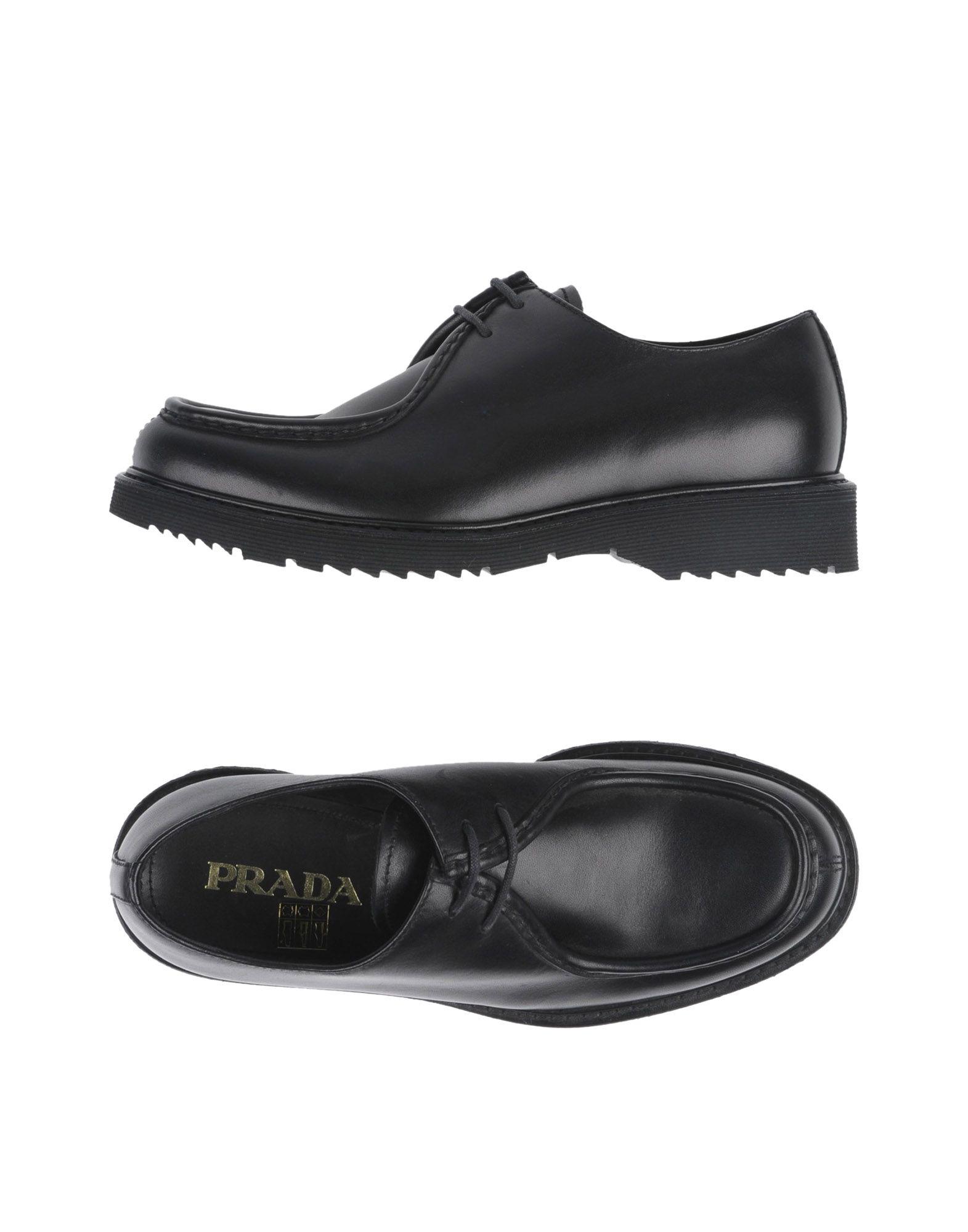 Prada Schnürschuhe Herren  11302606KV Gute Qualität beliebte Schuhe