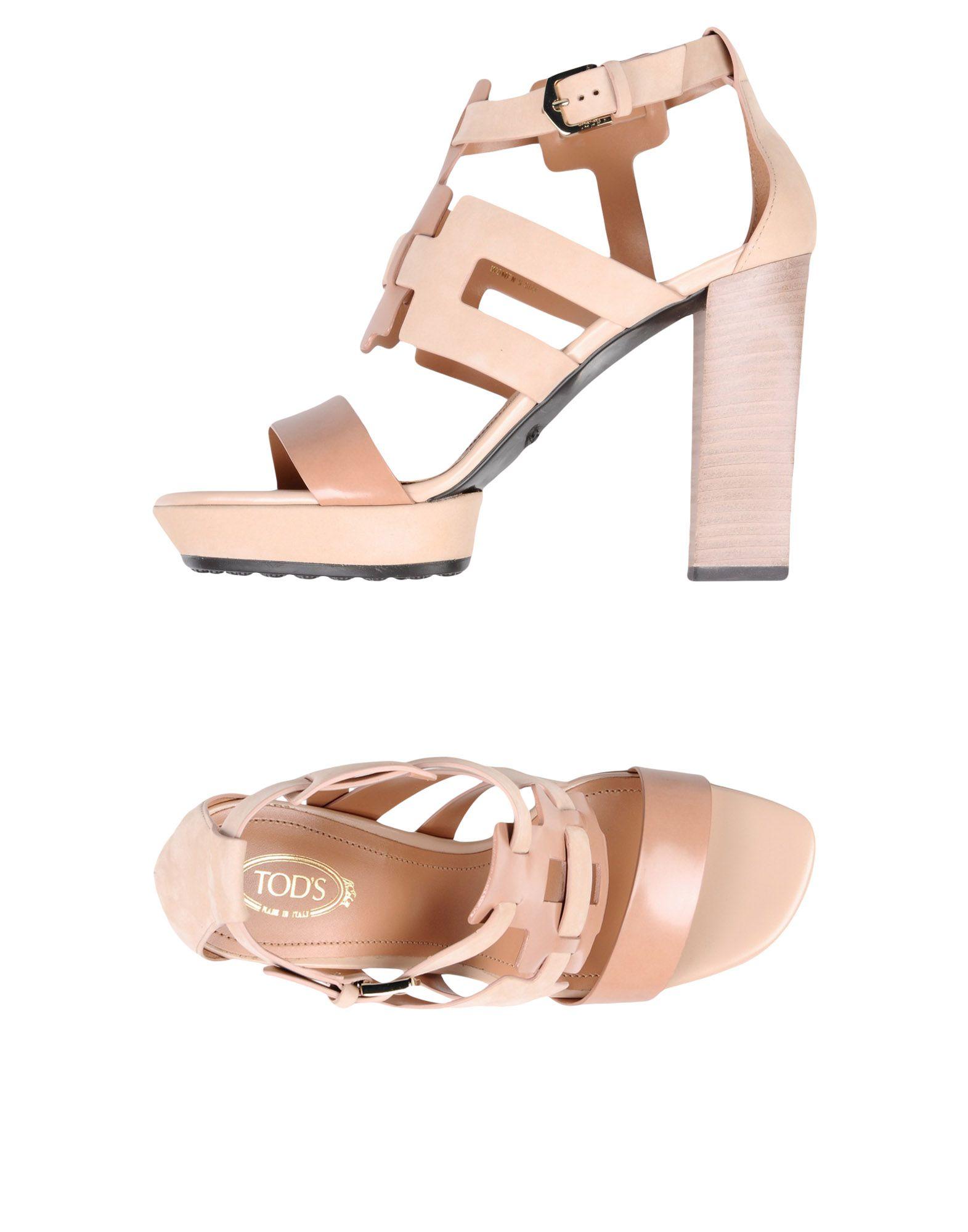 Rabatt Schuhe Tod's Sandalen Damen  11303019JG