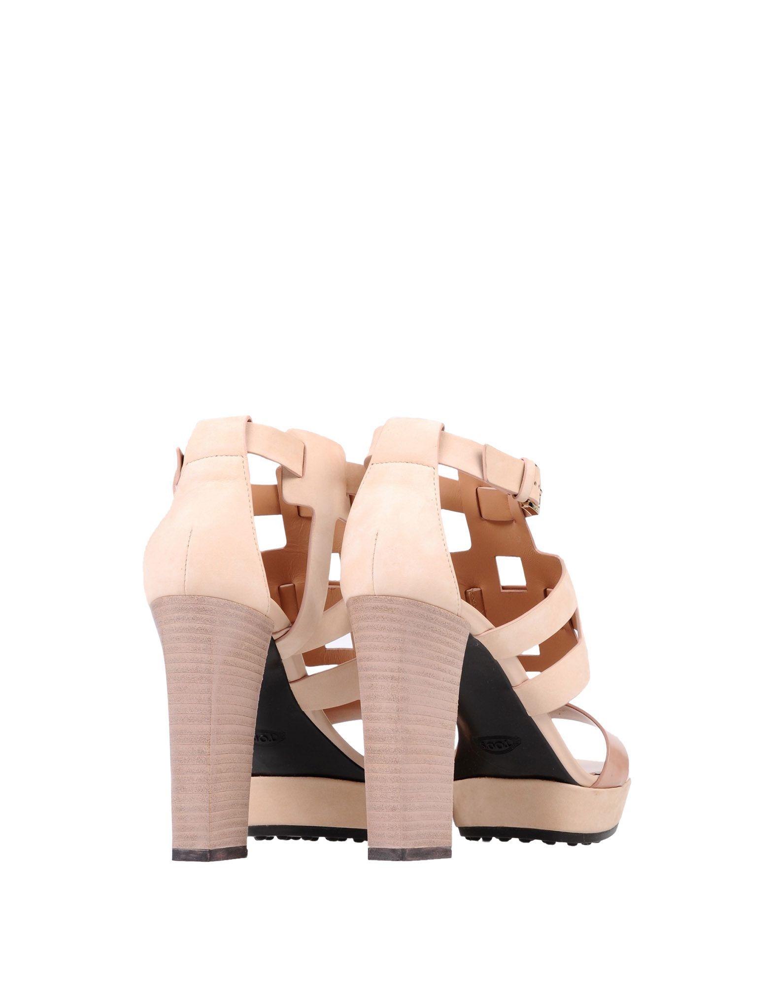 Stilvolle billige Schuhe Tod's Sandalen Damen  11303019JG 11303019JG 11303019JG 1a8502