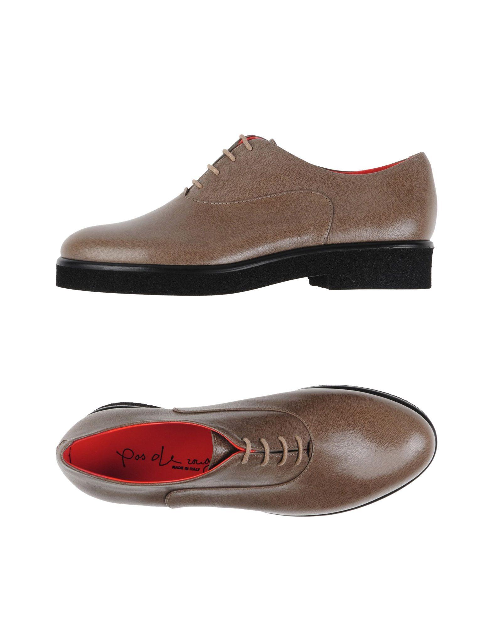 Zapatos casuales salvajes Zapato De Cordones Pas De Rouge Mujer De - Zapatos De Cordones Pas De Mujer Rouge  Caqui 18af0f