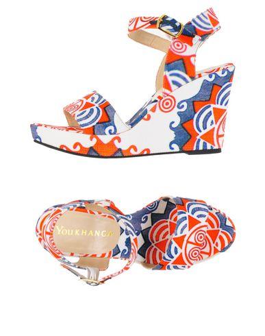 YOU KHANGA Sandals in Orange