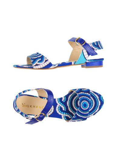 YOU KHANGA Sandals in Blue