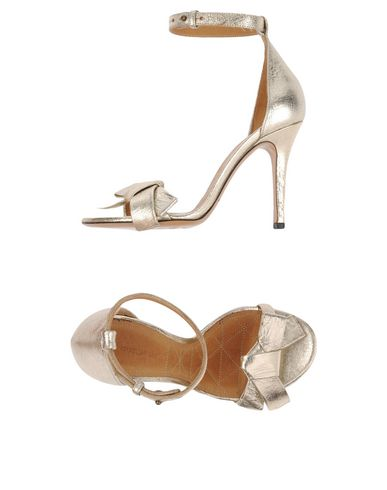 ISABEL MARANT Sandals in Gold
