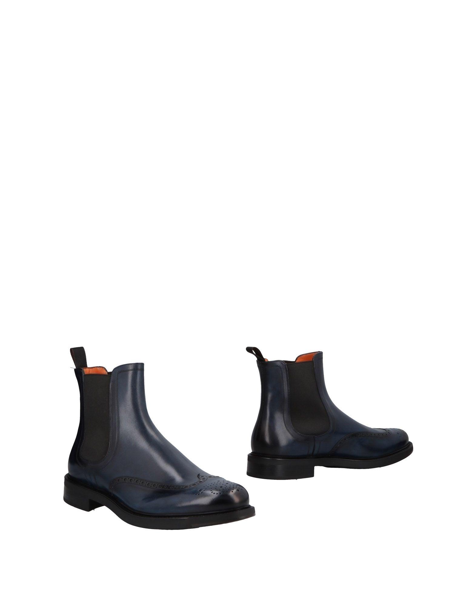 Haltbare Mode billige Schuhe Santoni Stiefelette Herren  11304753LE Heiße Schuhe