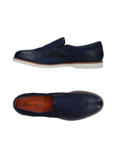 Zapatos con descuento Mocasín Santoni - Hombre - Mocasines Santoni - Santoni 11305182CE Azul oscuro 63d4fc