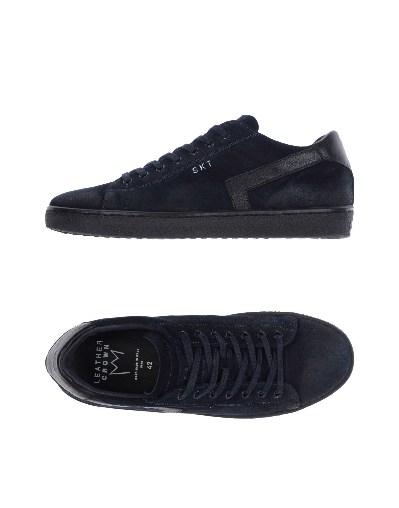 Leather Crown Crown Sneakers - Men Leather Crown Crown Sneakers online on  Australia - 11306171EJ c5afad