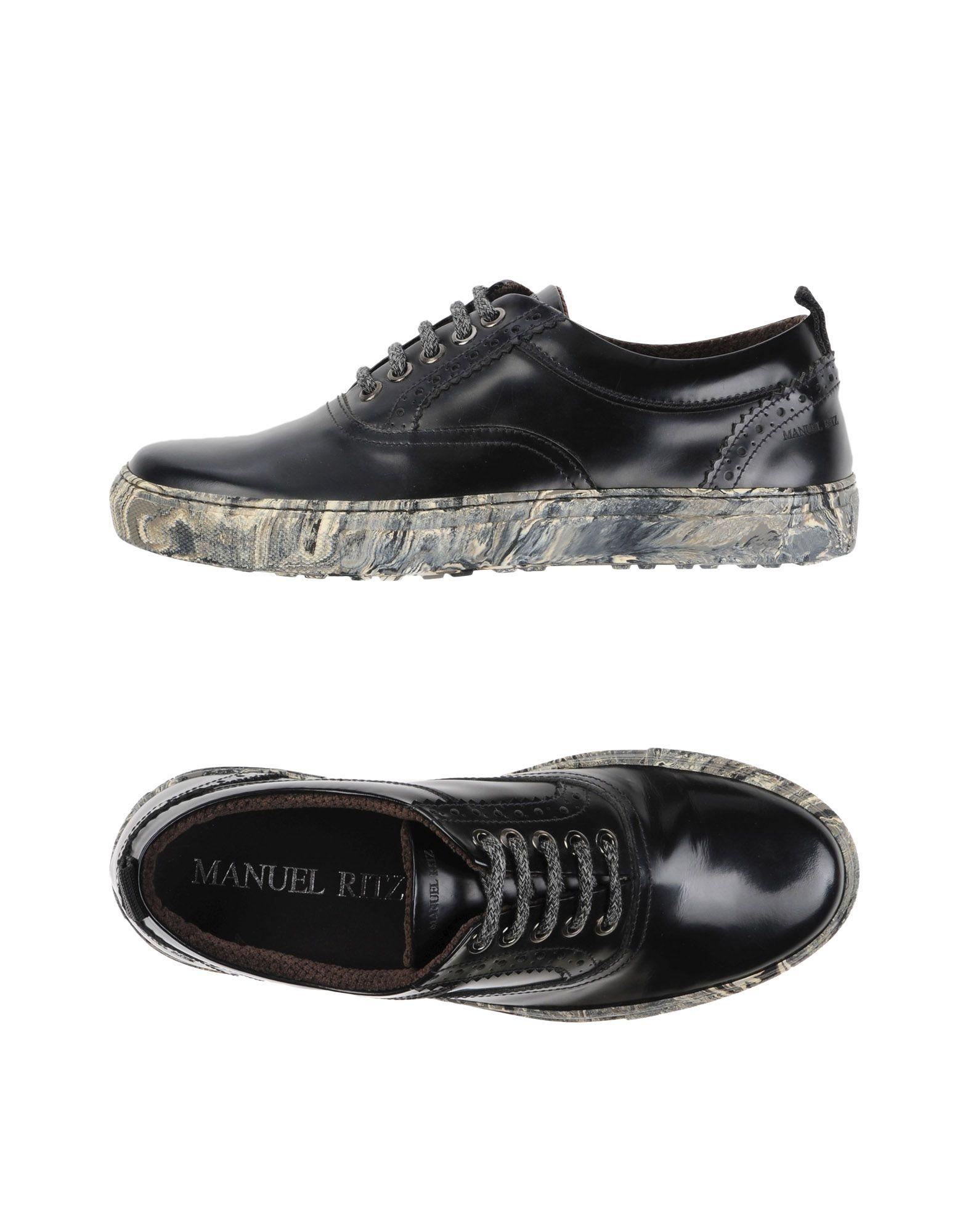 Rabatt echte Schuhe Manuel Ritz Schnürschuhe Herren  11306569QD