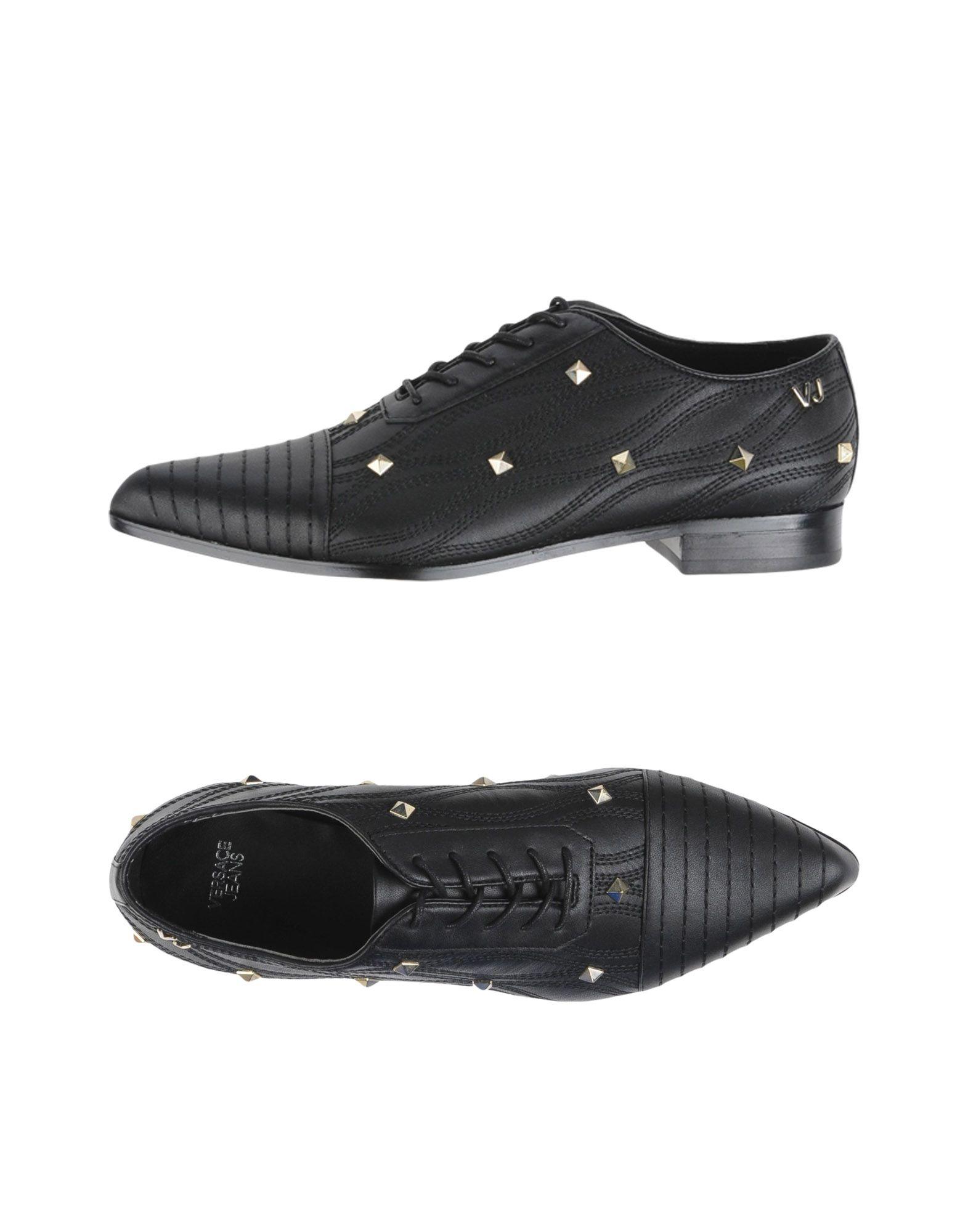 Chaussures À Lacets Versace Jeans Femme - Chaussures À Lacets Versace Jeans sur