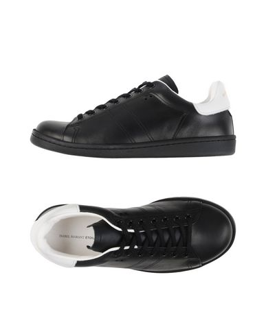 WOMAN BART TWO-TONE LEATHER SNEAKERS BLACK