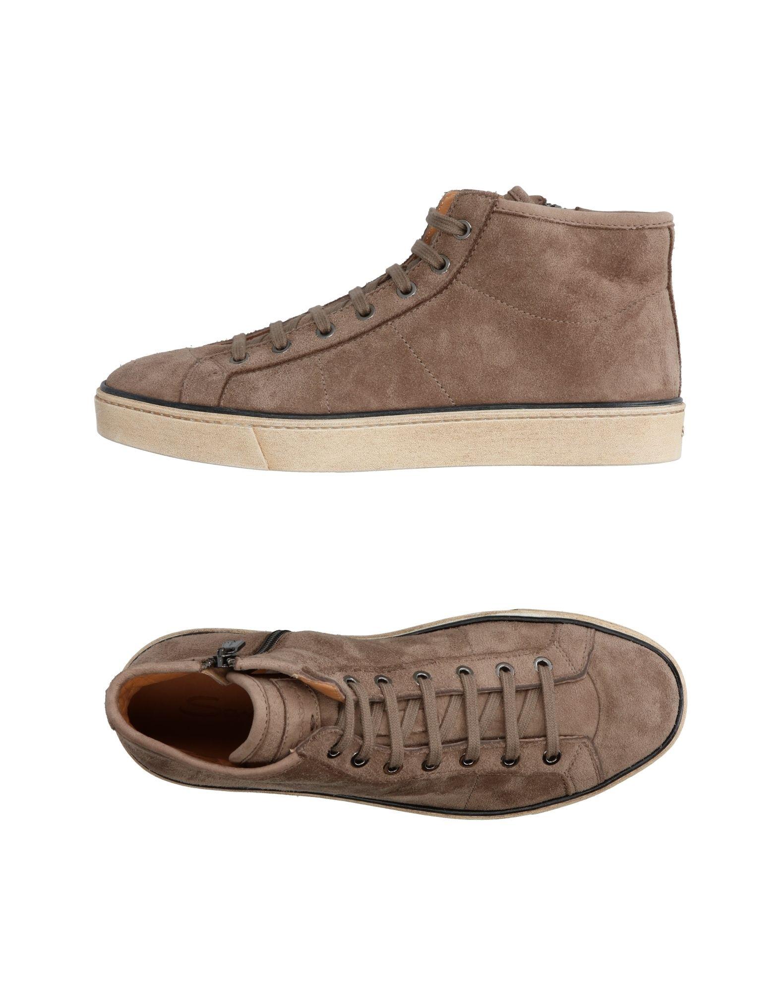 Günstige und modische Schuhe Santoni Sneakers Herren  11307301WK