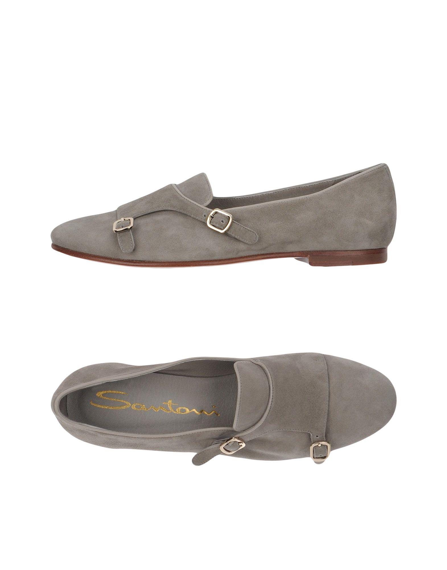 Haltbare Mode billige Schuhe Santoni Mokassins Damen  11307623TW Heiße Schuhe