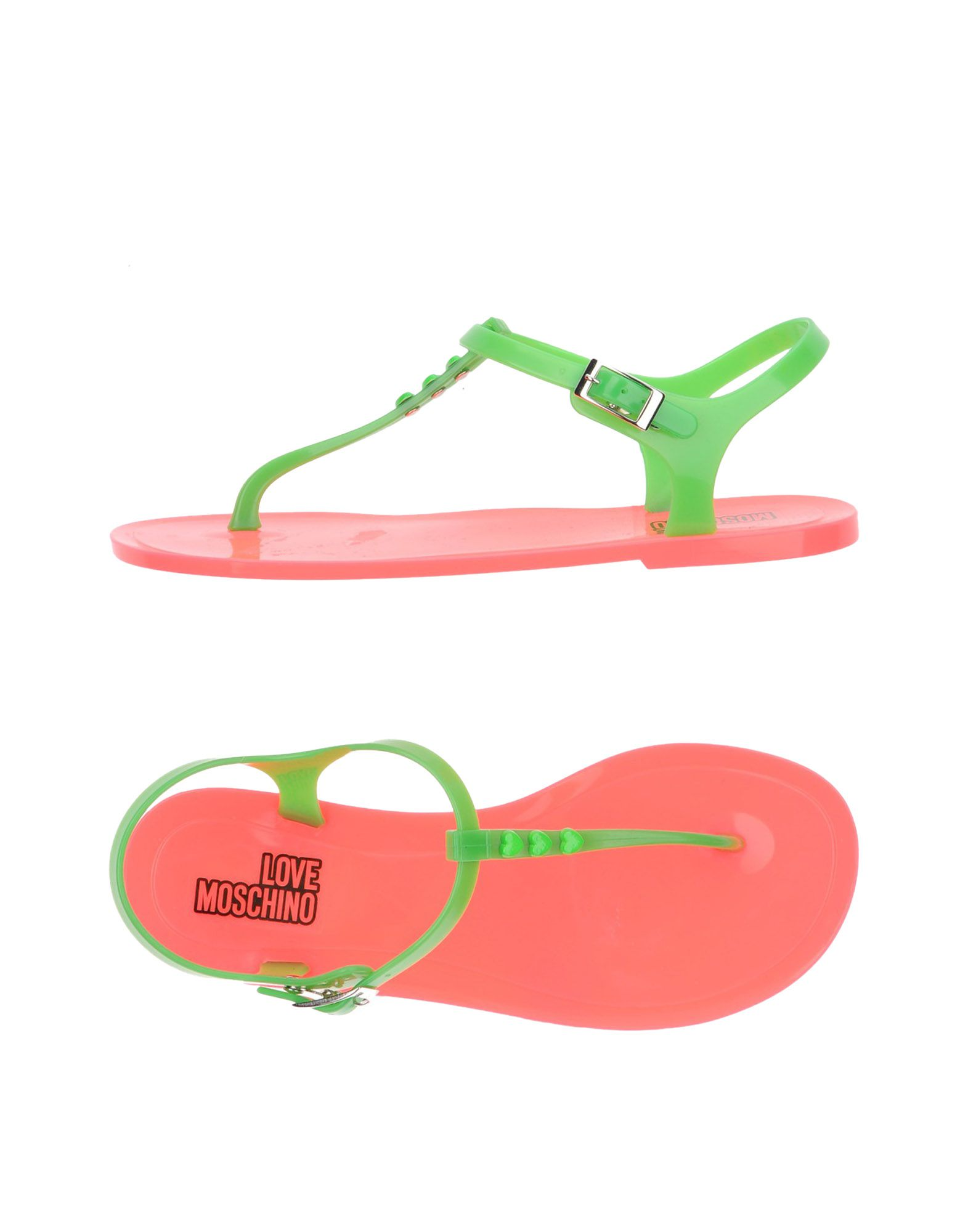 Tongs Love Moschino Femme - Tongs Love Moschino sur